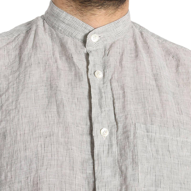 Shirt men Eleventy sage 4