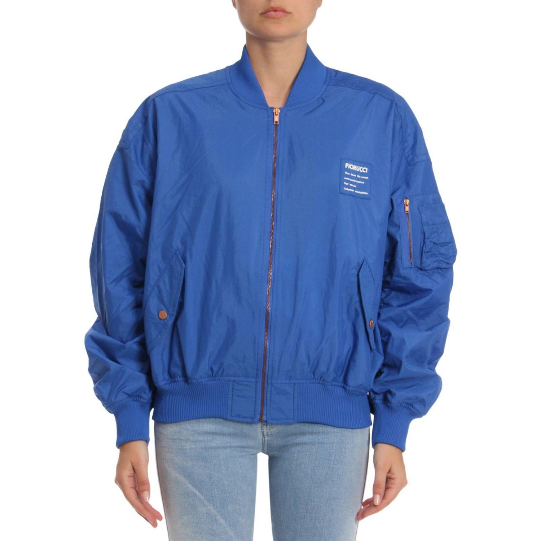 Jacket women Fiorucci blue 1