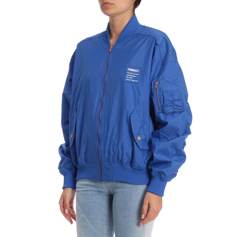 Jacket women Fiorucci blue 2
