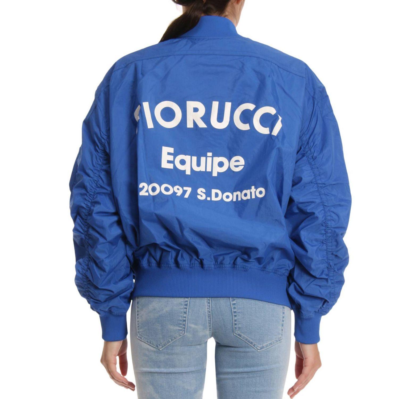 Jacket women Fiorucci blue 3