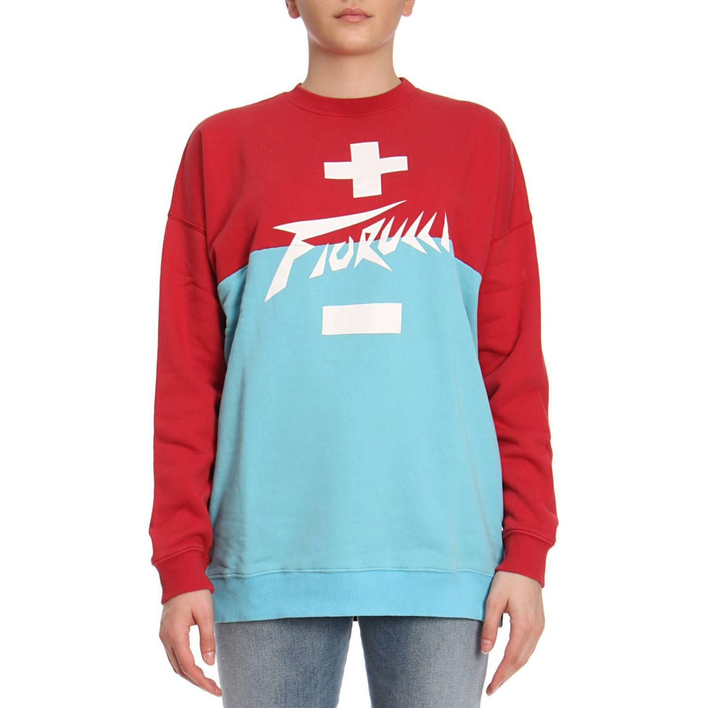 Sweater women Fiorucci red 1