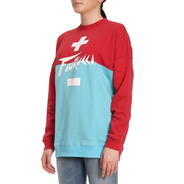 Sweater women Fiorucci red 2