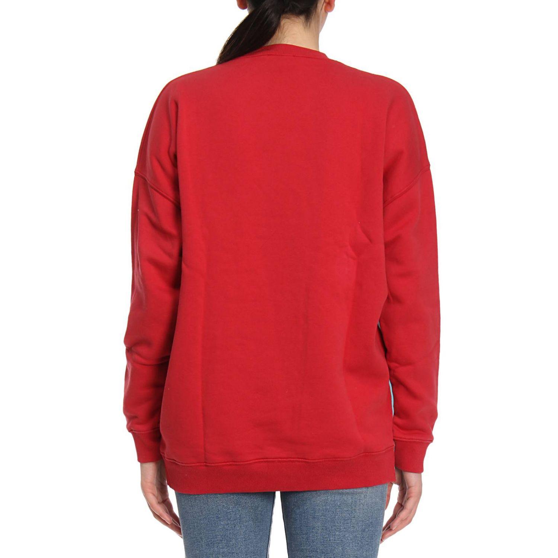 Sweater women Fiorucci red 3