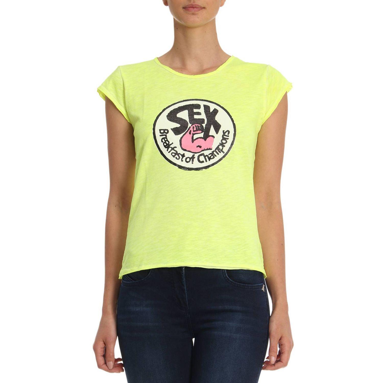 T恤 女士 1921 黄色 1