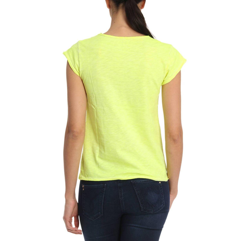T恤 女士 1921 黄色 3