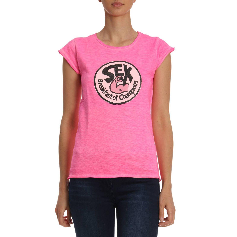 T恤 女士 1921 粉色 1