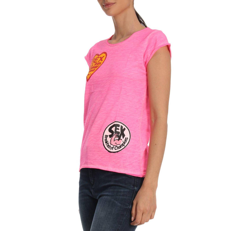 T-Shirt 1921: T-shirt damen 1921 pink 2