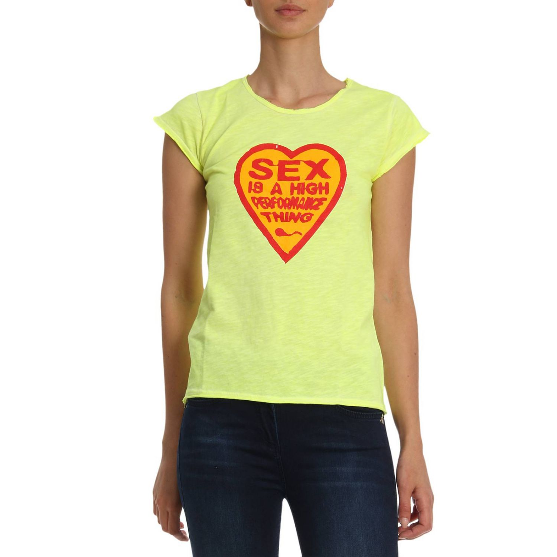 T恤 1921: T恤 女士 1921 黄色 1