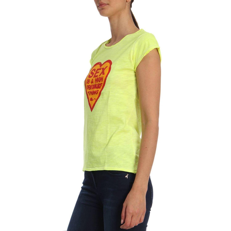 T恤 1921: T恤 女士 1921 黄色 2