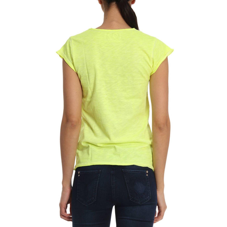 T恤 1921: T恤 女士 1921 黄色 3
