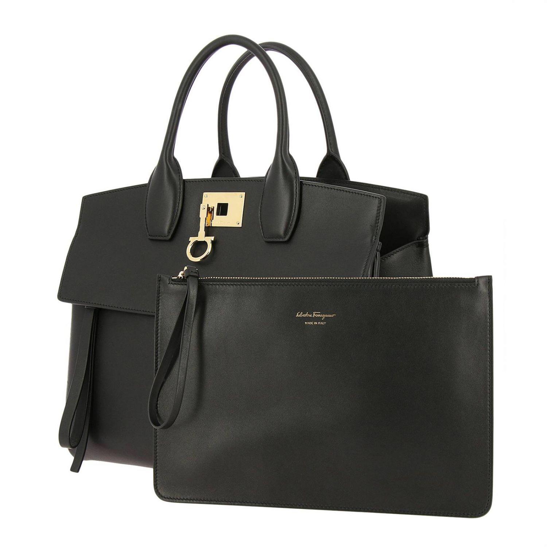 Handtasche Salvatore Ferragamo: Schultertasche damen Salvatore Ferragamo schwarz 5