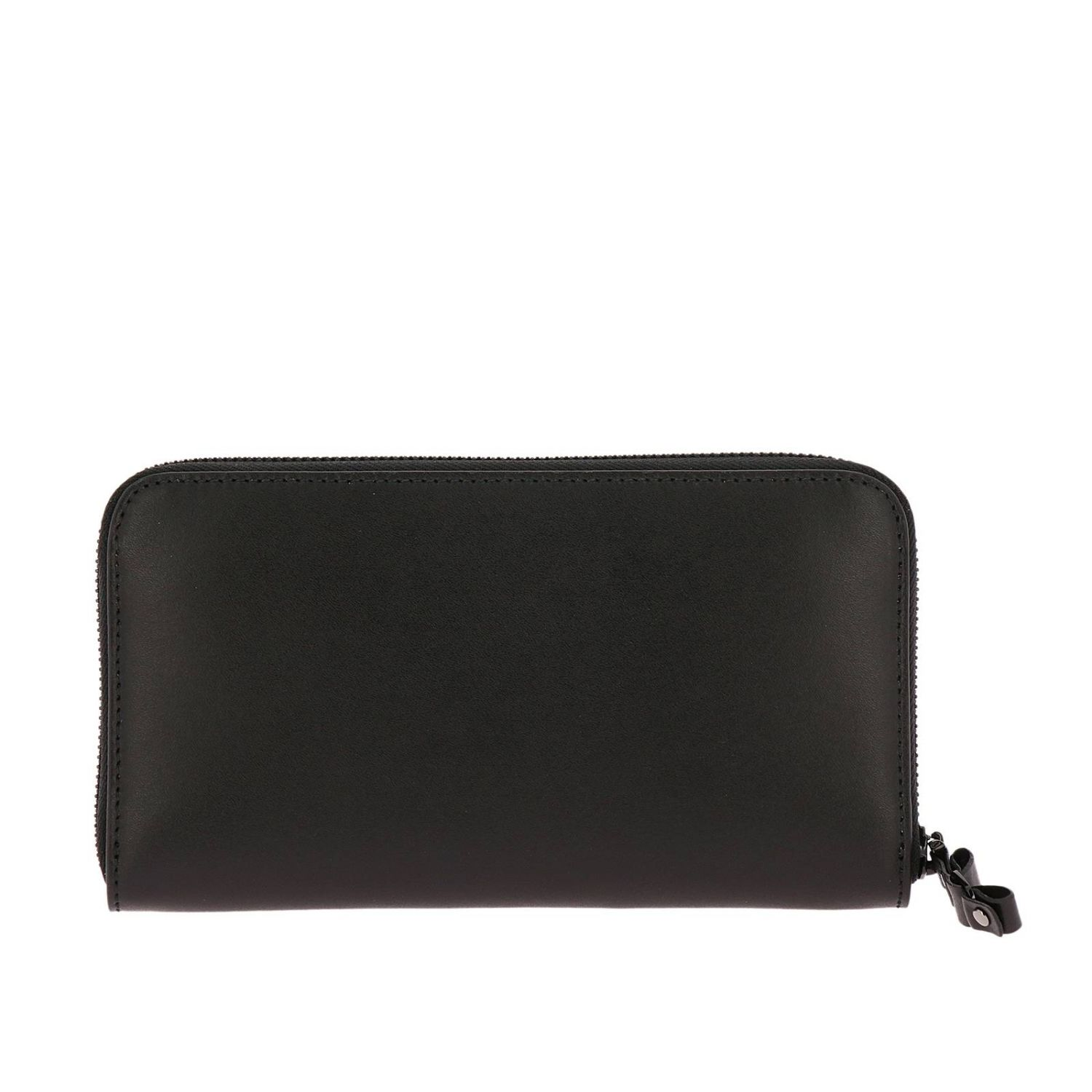 Vara Rainbow continental zip around wallet in smooth leather with Vara maxi bow black 2