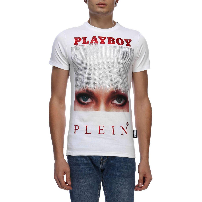 T-shirt men Philipp Plein white 1