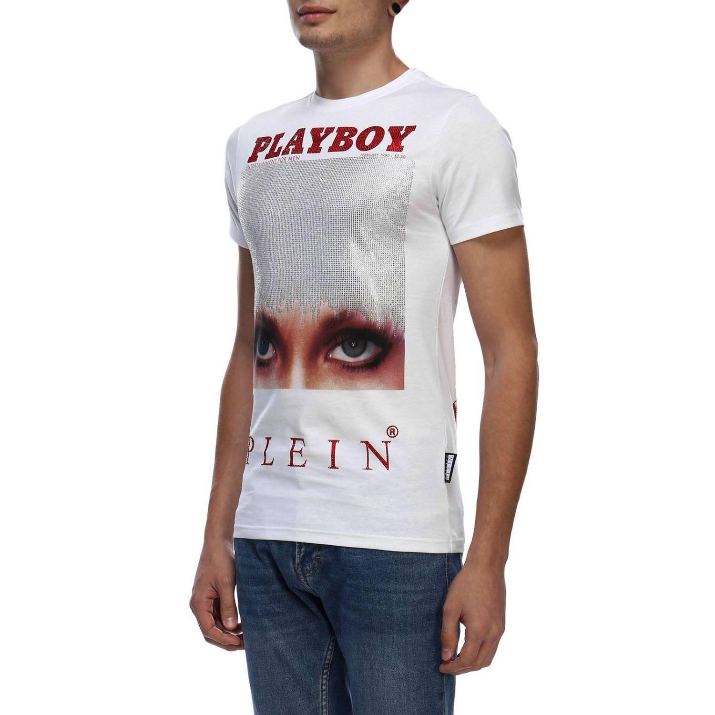 T-shirt men Philipp Plein white 2