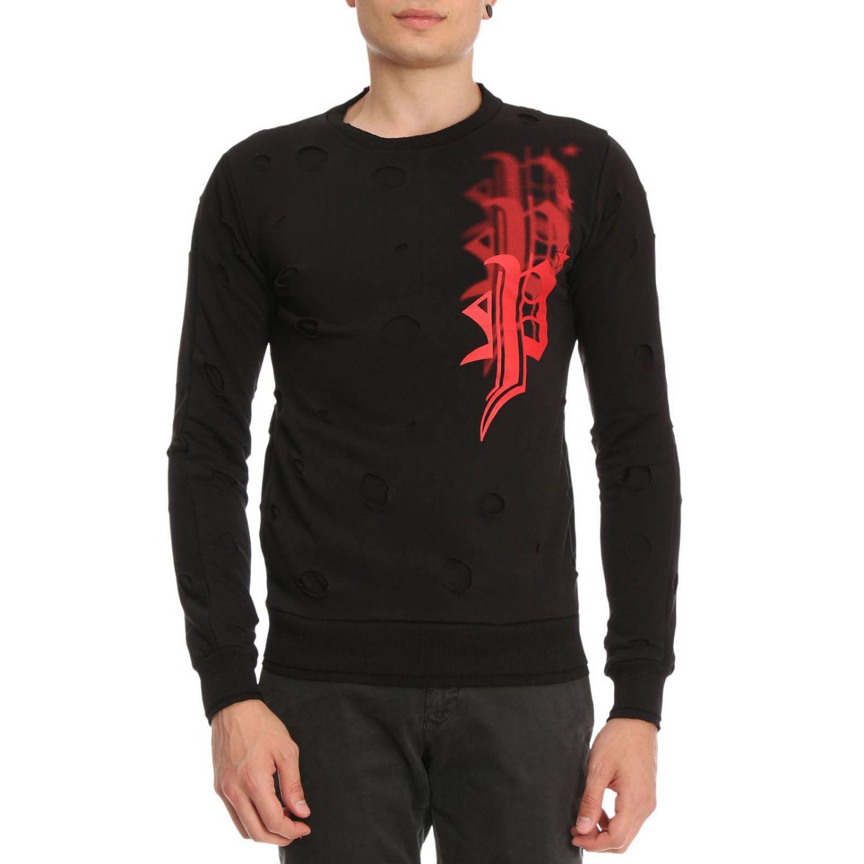 Sweater men Philipp Plein black 1