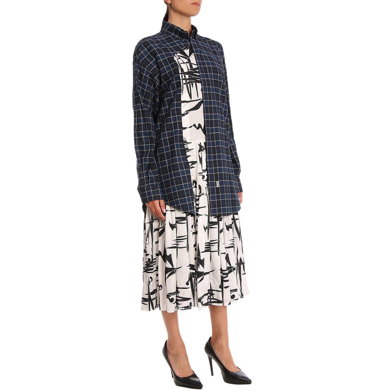 Dress Balenciaga: Dress women Balenciaga blue 2