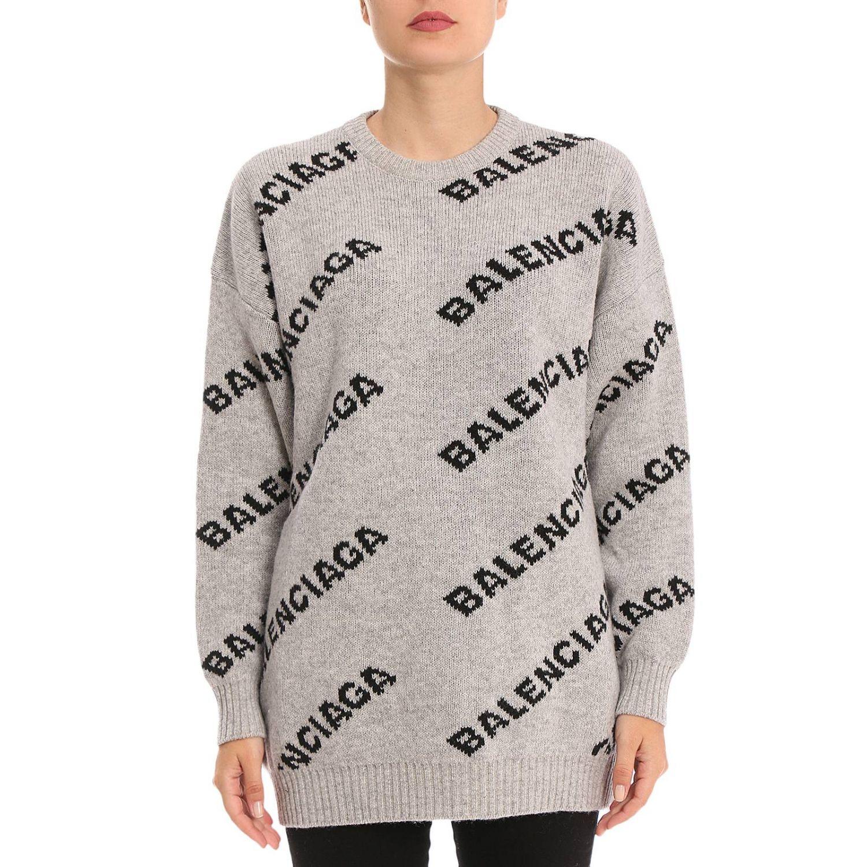 Sweater Balenciaga 529206 T1473 Giglio EN
