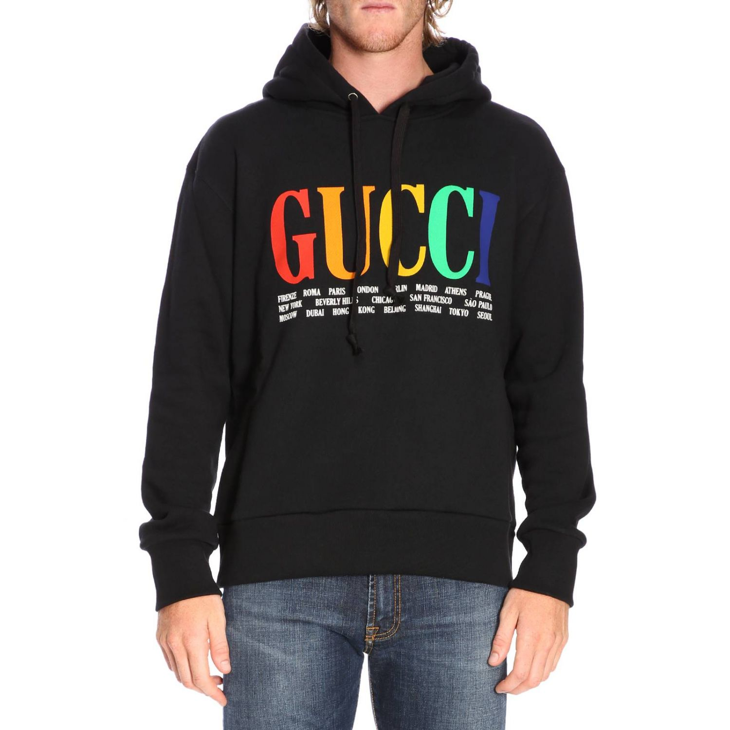 Sweater men Gucci black 1