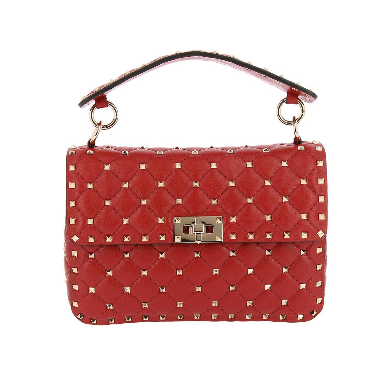 Handtasche Valentino Garavani: Schultertasche damen Valentino Garavani rot 1