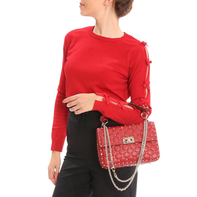Handtasche Valentino Garavani: Schultertasche damen Valentino Garavani rot 2