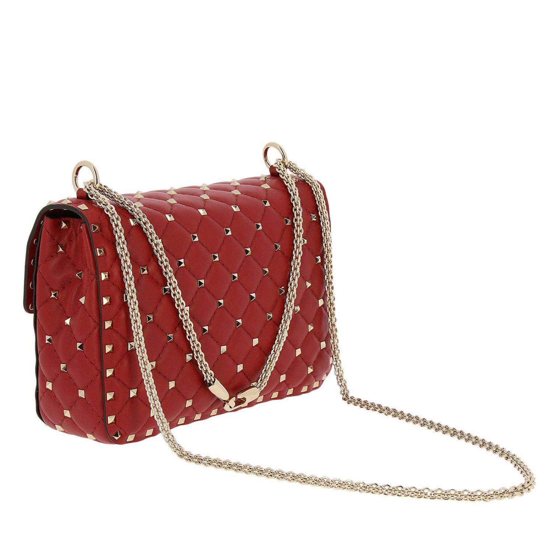 Handtasche Valentino Garavani: Schultertasche damen Valentino Garavani rot 3