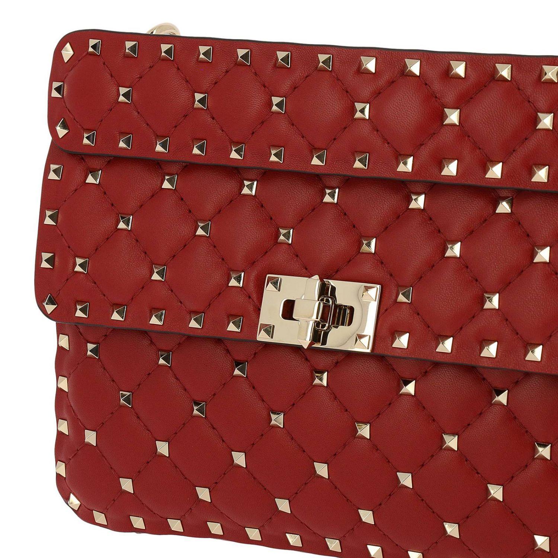 Handtasche Valentino Garavani: Schultertasche damen Valentino Garavani rot 5