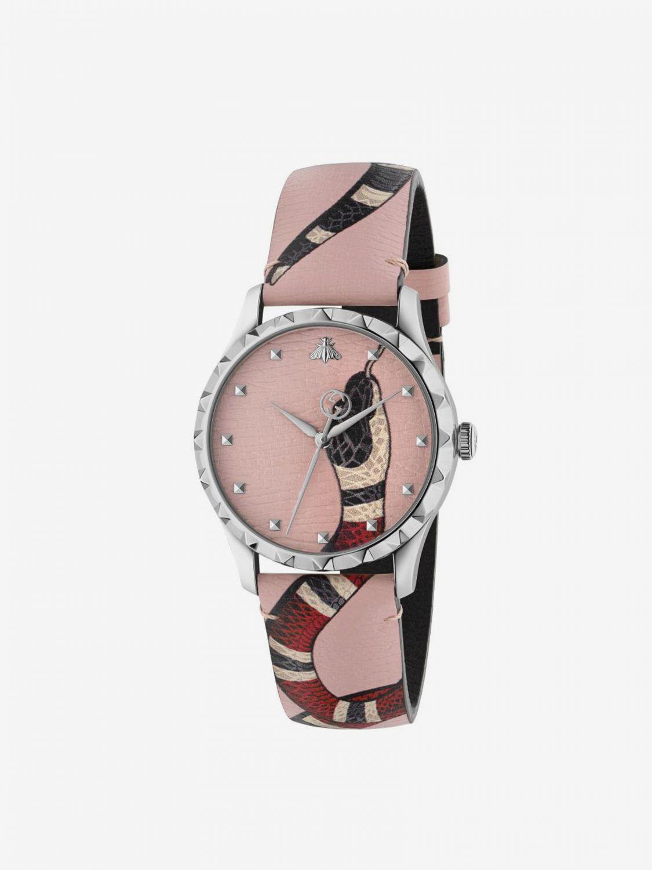Uhr herren Gucci pink 1