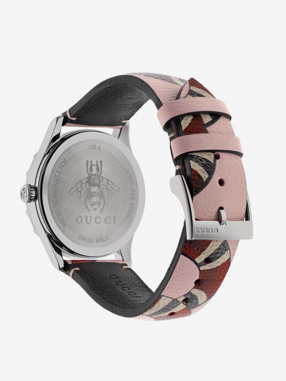 Uhr herren Gucci pink 2