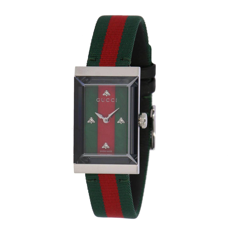Watch men Gucci green 1
