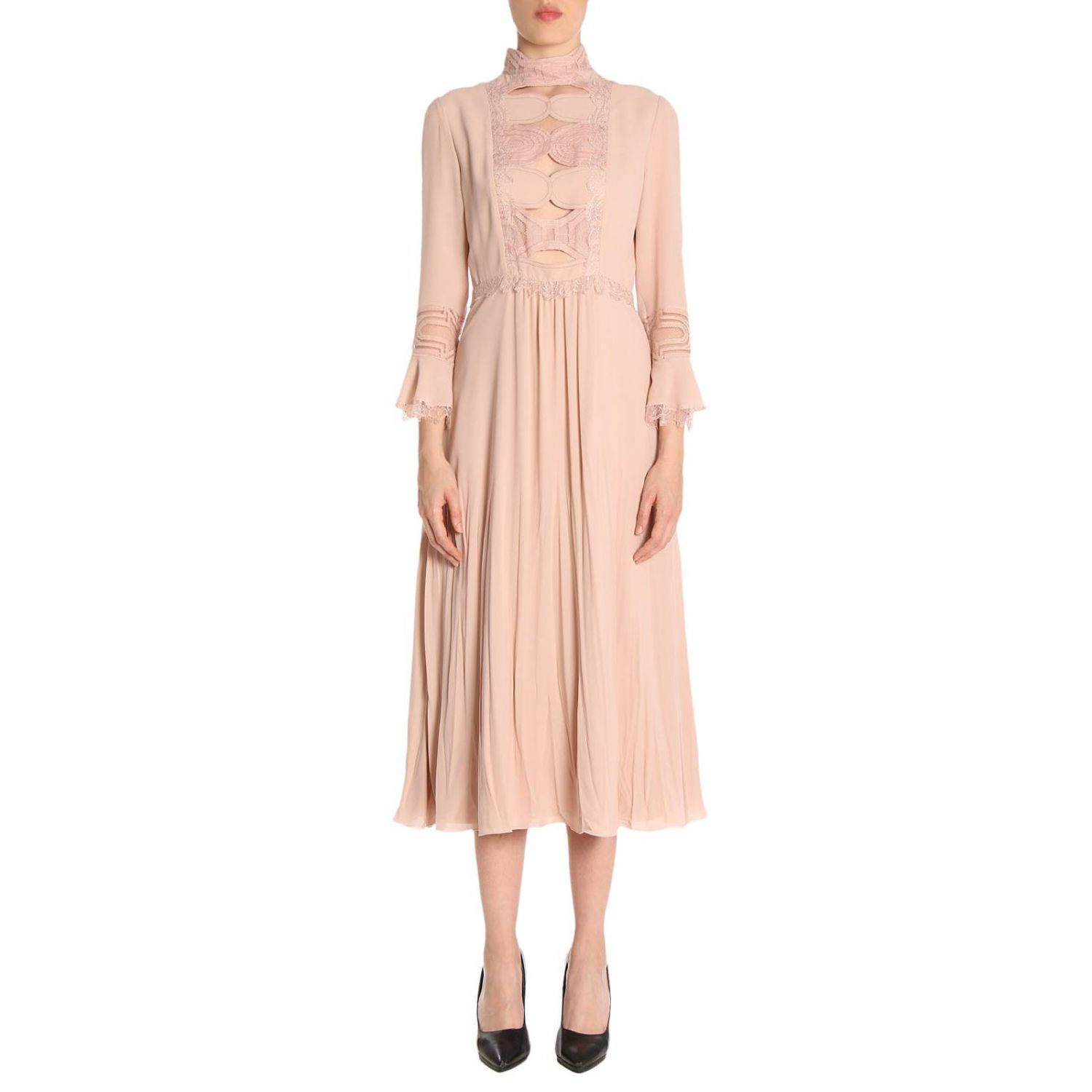 Dress Bottega Veneta: Dress women Bottega Veneta blush pink 1