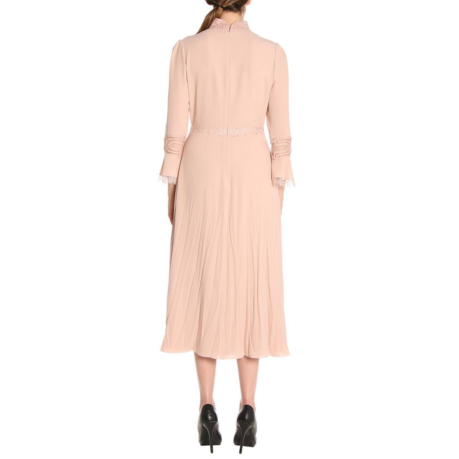 Dress Bottega Veneta: Dress women Bottega Veneta blush pink 3