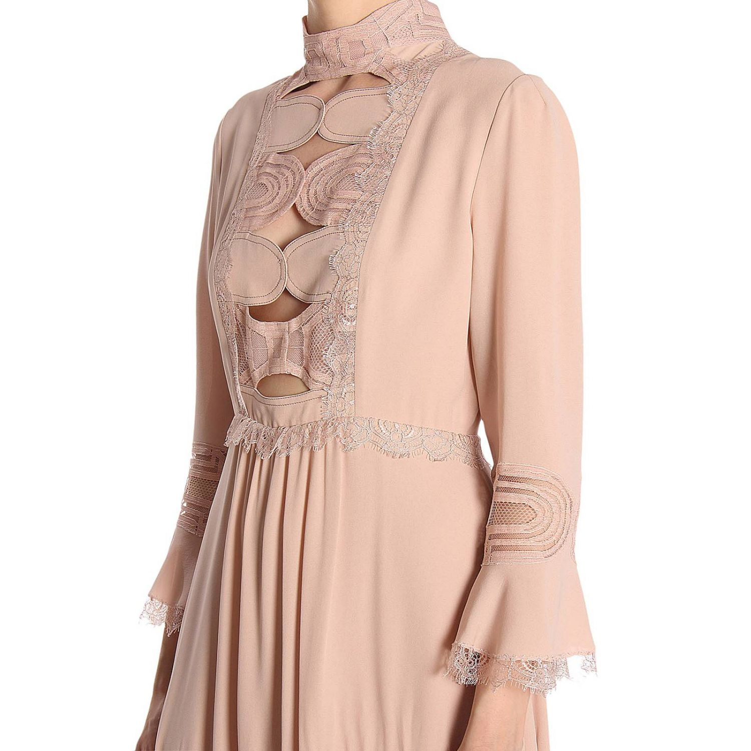 Dress Bottega Veneta: Dress women Bottega Veneta blush pink 4