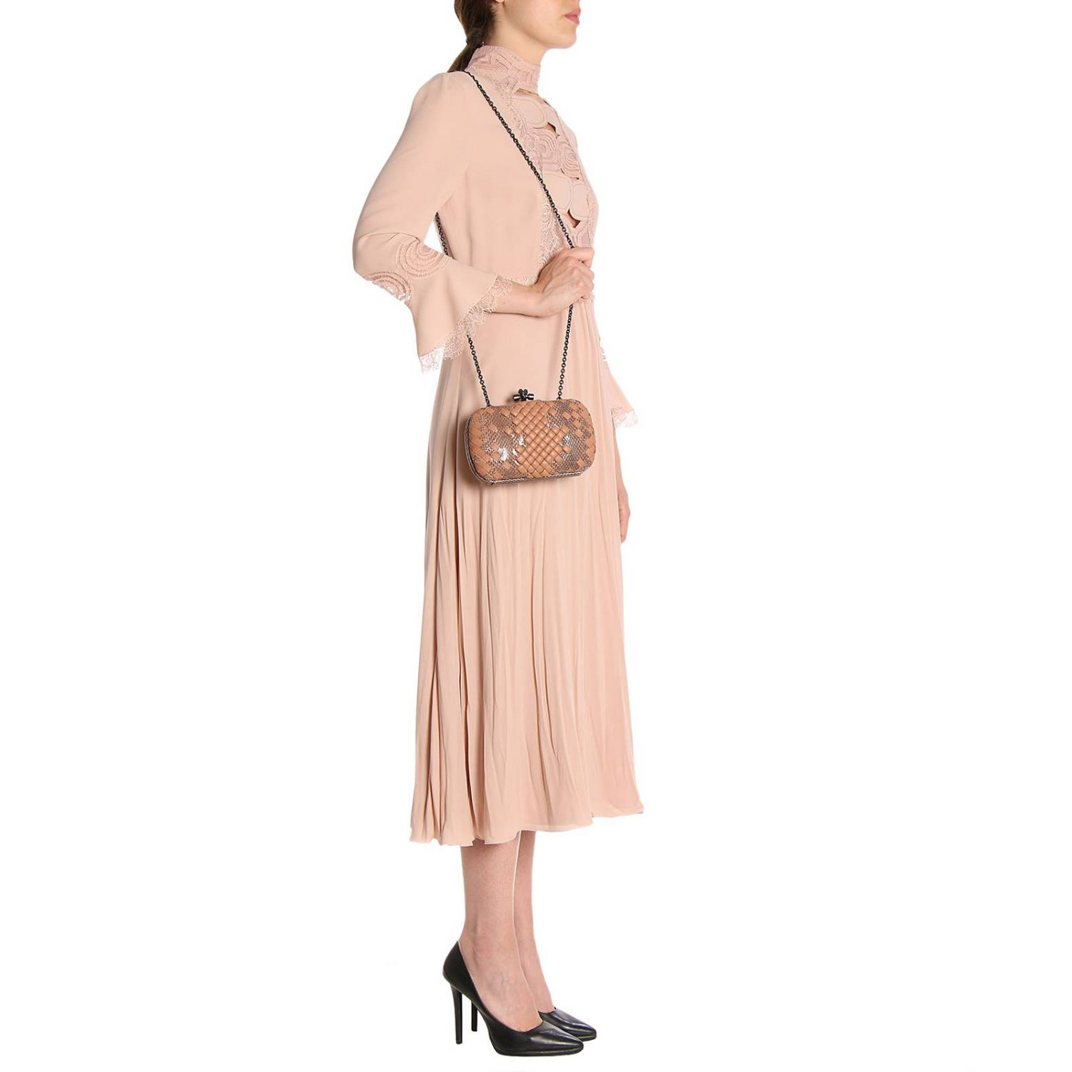 Dress Bottega Veneta: Dress women Bottega Veneta blush pink 5