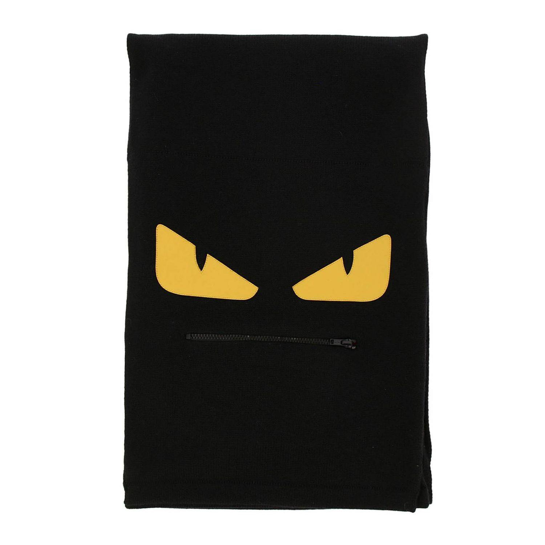 Écharpe Fendi: écharpe homme Fendi noir 1