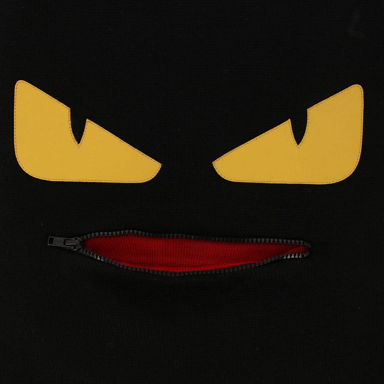 Écharpe Fendi: écharpe homme Fendi noir 3