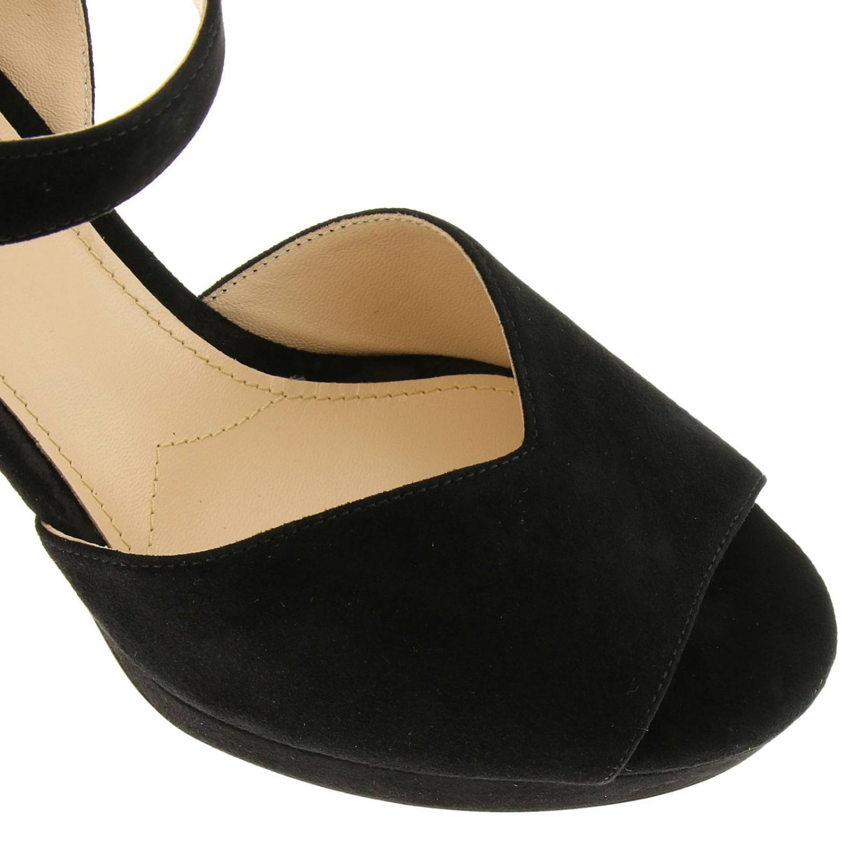 Heeled sandals Prada: Shoes women Prada black 3