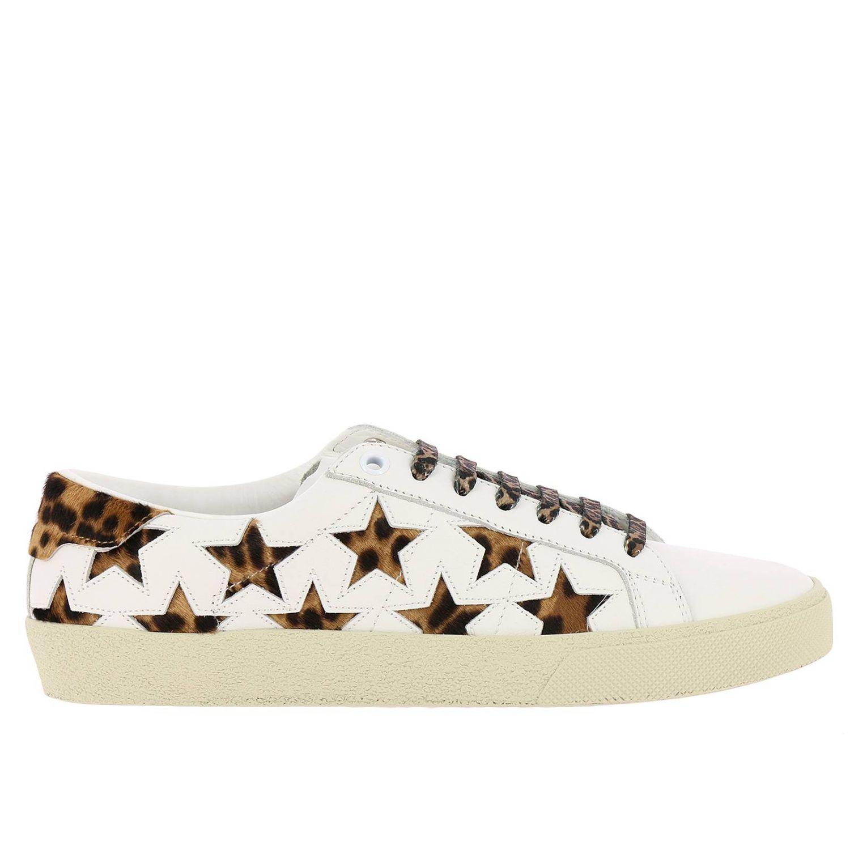 Обувь Женское Saint Laurent белый 1