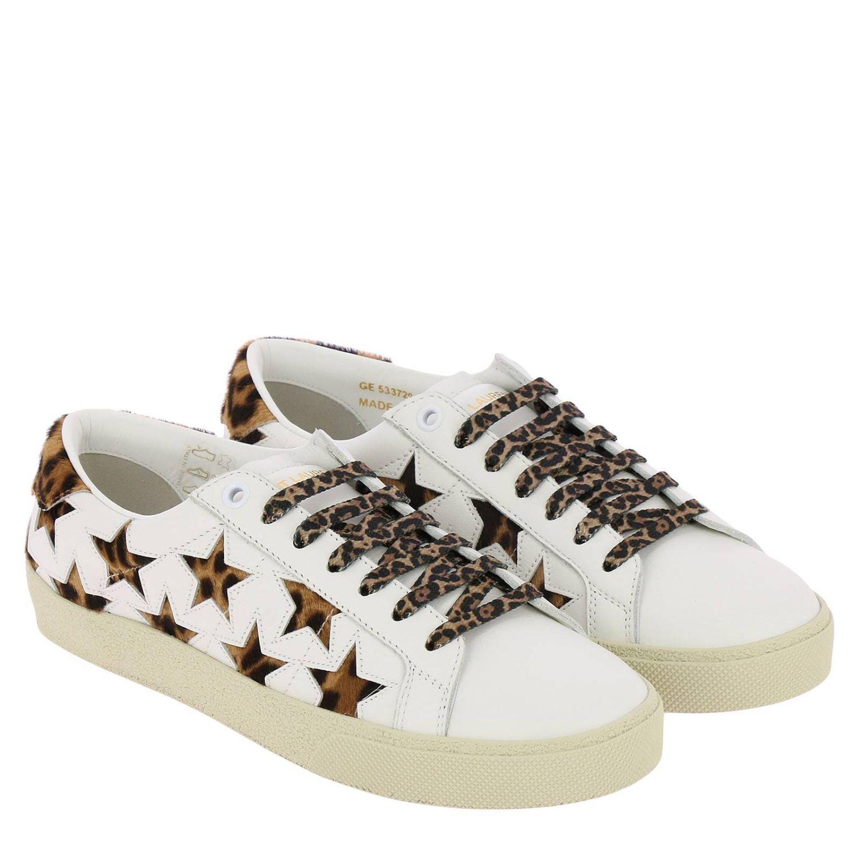 Обувь Женское Saint Laurent белый 2