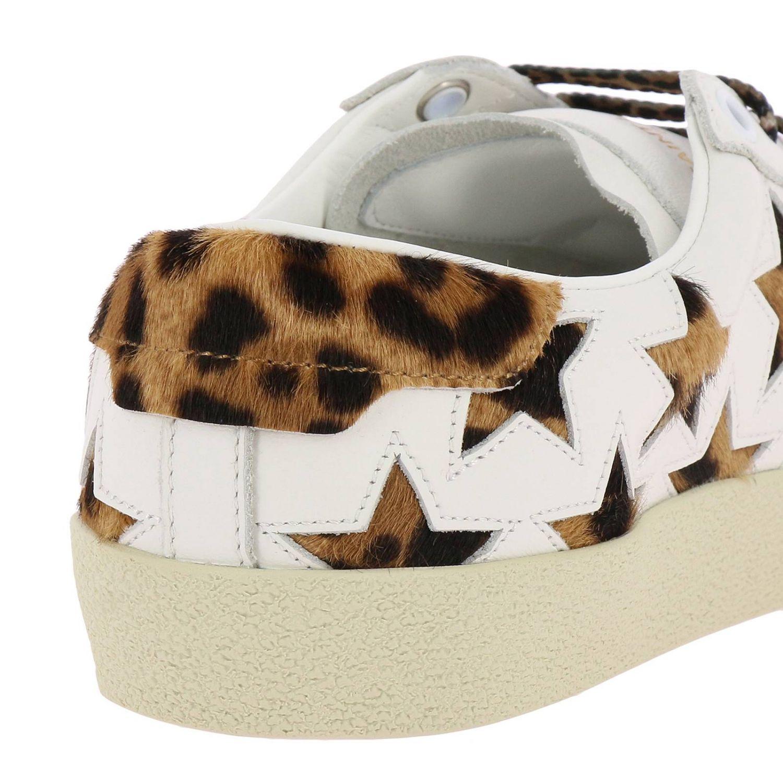Обувь Женское Saint Laurent белый 4