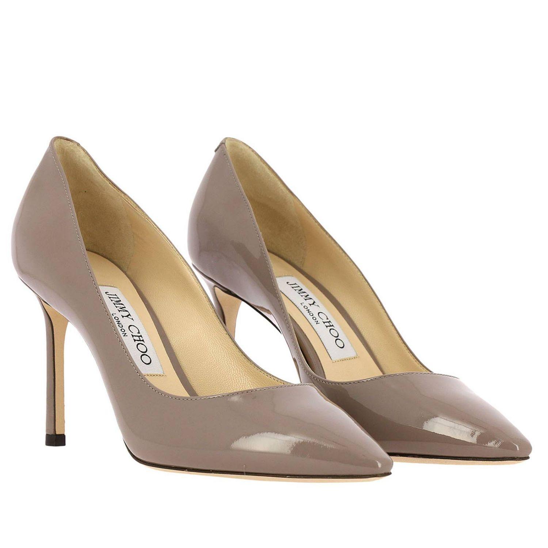 Pumps Jimmy Choo: Schuhe damen Jimmy Choo taubengrau 2