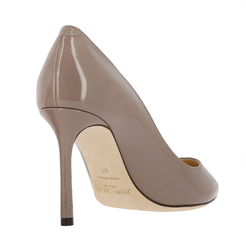 Pumps Jimmy Choo: Schuhe damen Jimmy Choo taubengrau 4