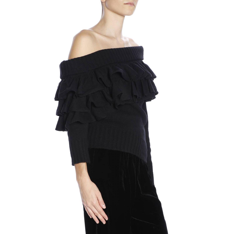 Pullover damen Capucci schwarz 2