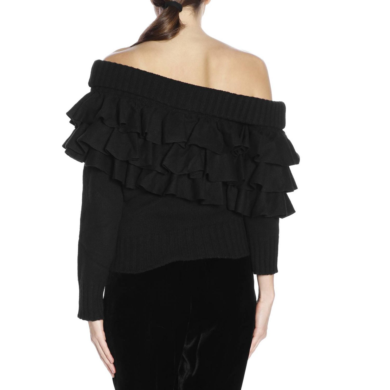 Pullover damen Capucci schwarz 3
