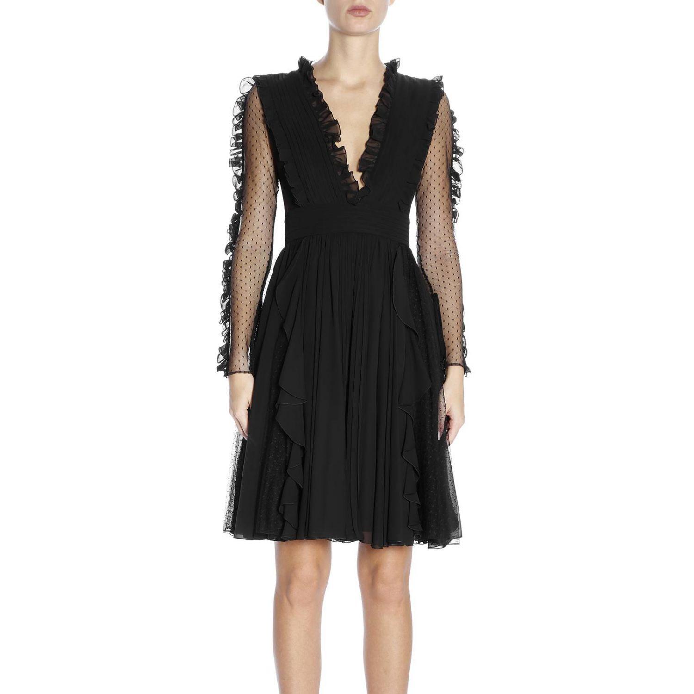 Kleid damen Capucci schwarz 1