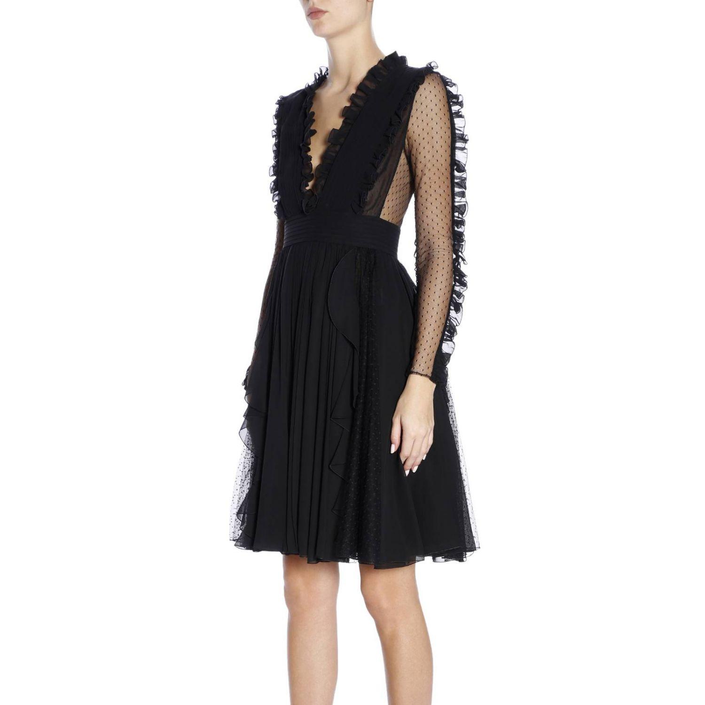 Kleid damen Capucci schwarz 2