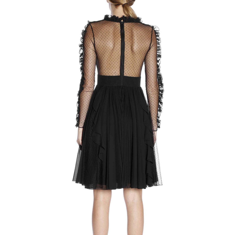 Kleid damen Capucci schwarz 3