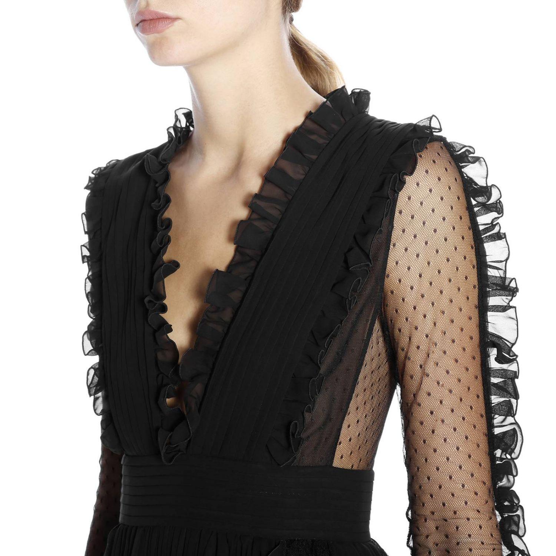 Kleid damen Capucci schwarz 5