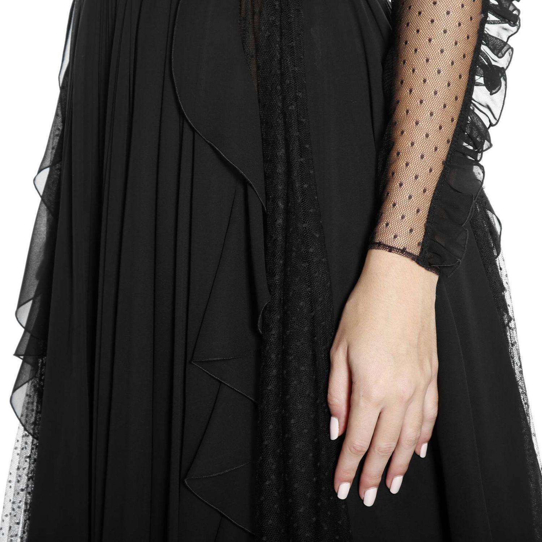 Kleid damen Capucci schwarz 6