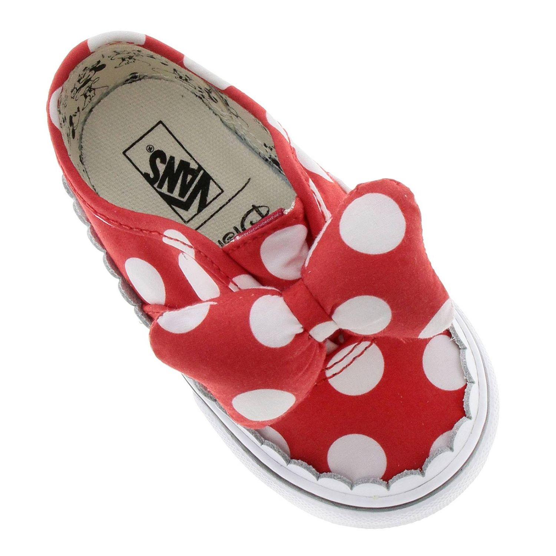 Toddlers Mickey Mouse slip on | Vans enfant, Baskets et