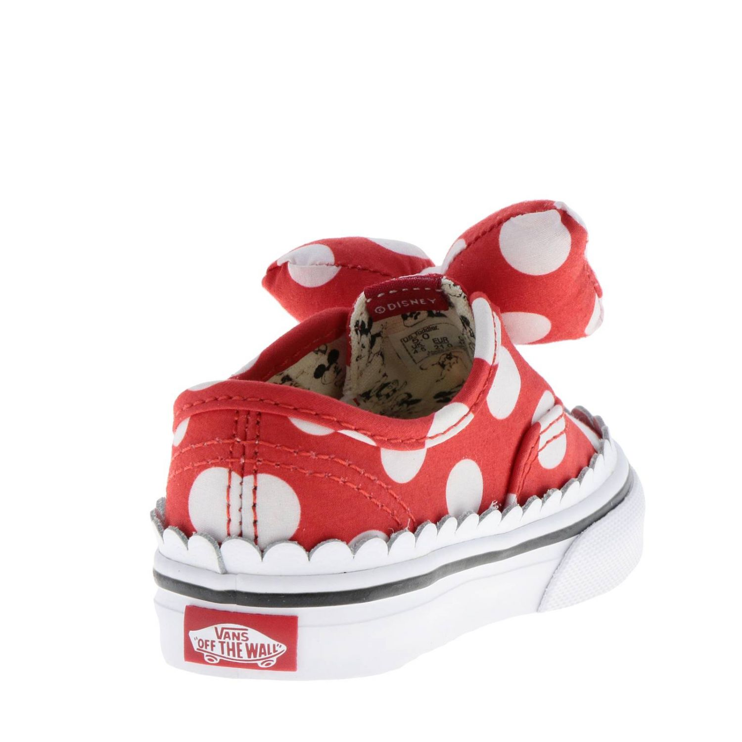 Vans Outlet: Sneakers Authentic gore slip on dedicated to Mickey ...